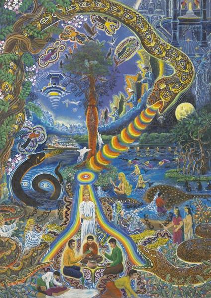 Pablo Amaringo, visions de la cosmologie sous ayahuasca