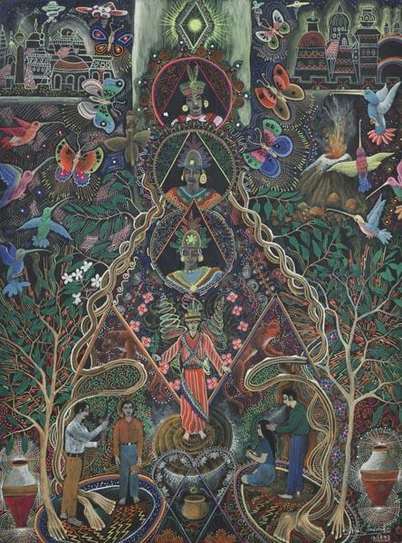Vision profonde, jungle amazonienne