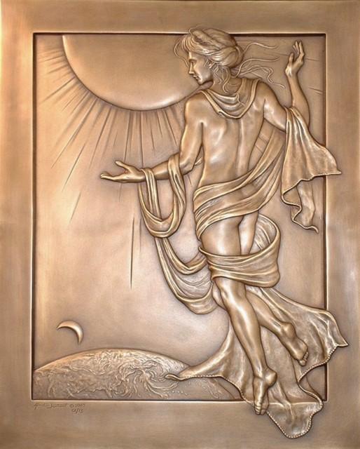Aeusos, Déesse de l'Aurore