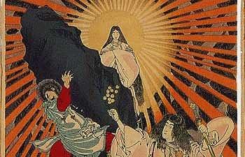 Amaterasu, déesse solaire japonaise