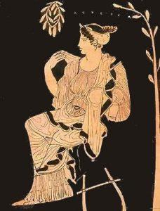 Astéria la Brillante, sœur d'Apollon et d'Artemis