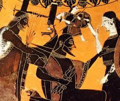 Naissance d'Athéna, fille de Zeus et de Métis
