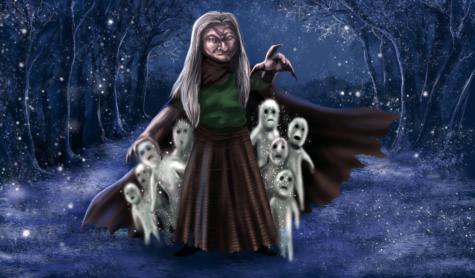 Berchta, la Dame Blanche