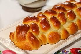 Brioche de célébration de Pâques