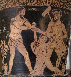 Charun achevant le gladiateur