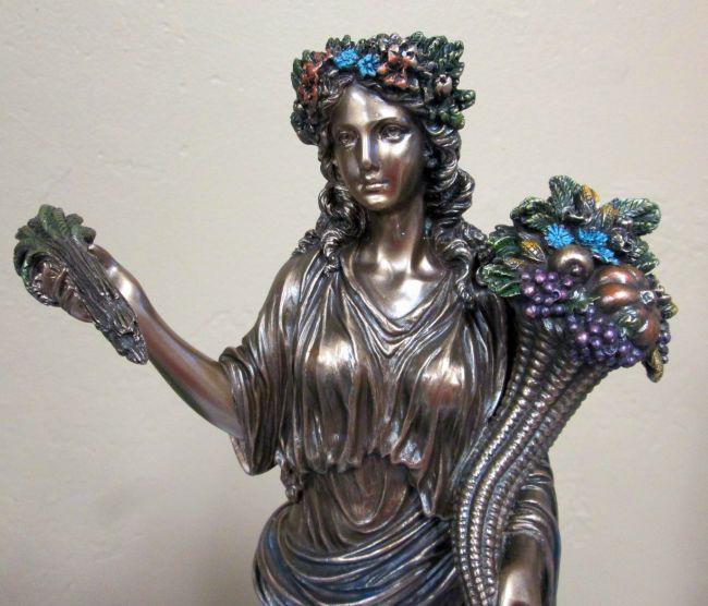 Déméter, déesse de l'alternance de la vie et de la mort !