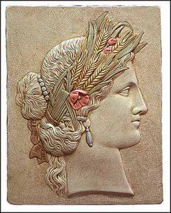 Déméter, déesse du blé et des moissons