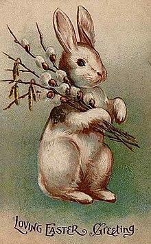 Le lapin de Pâques, lapin du renouveau