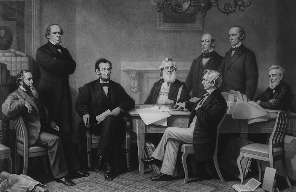 La signature de la déclaration d'abolition de l'esclavage