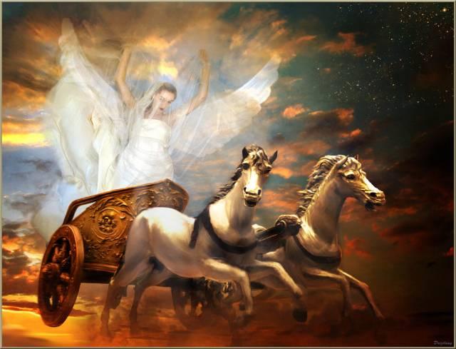 Levez-vous et découvrez Éos, la déesse de l'aurore !