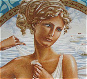 Hélène de Troie, Pâris, Aphrodite, Ménélas