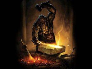 Héphaïstos Dieu du feu, de la forge et des volcans