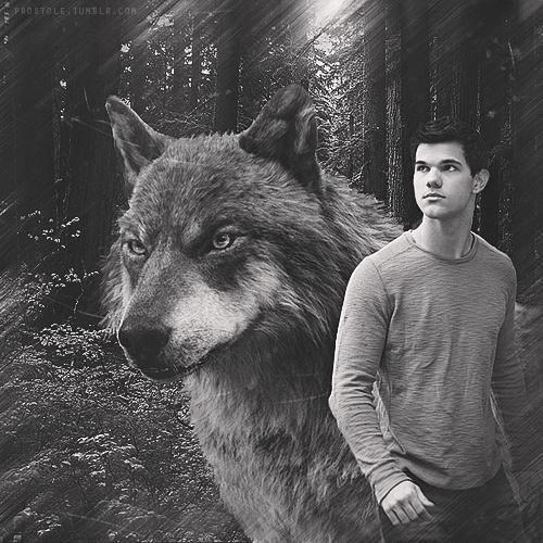 Un indien Quileute en tant que loup-garou