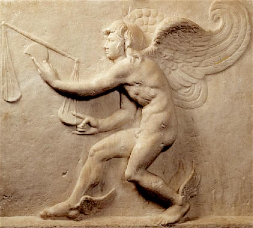 Le dieu grec du moment opportun