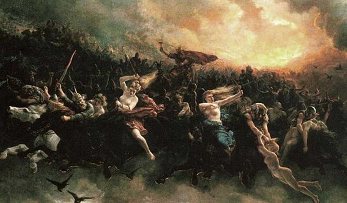 La chasse sauvage d'Odin-Wotan