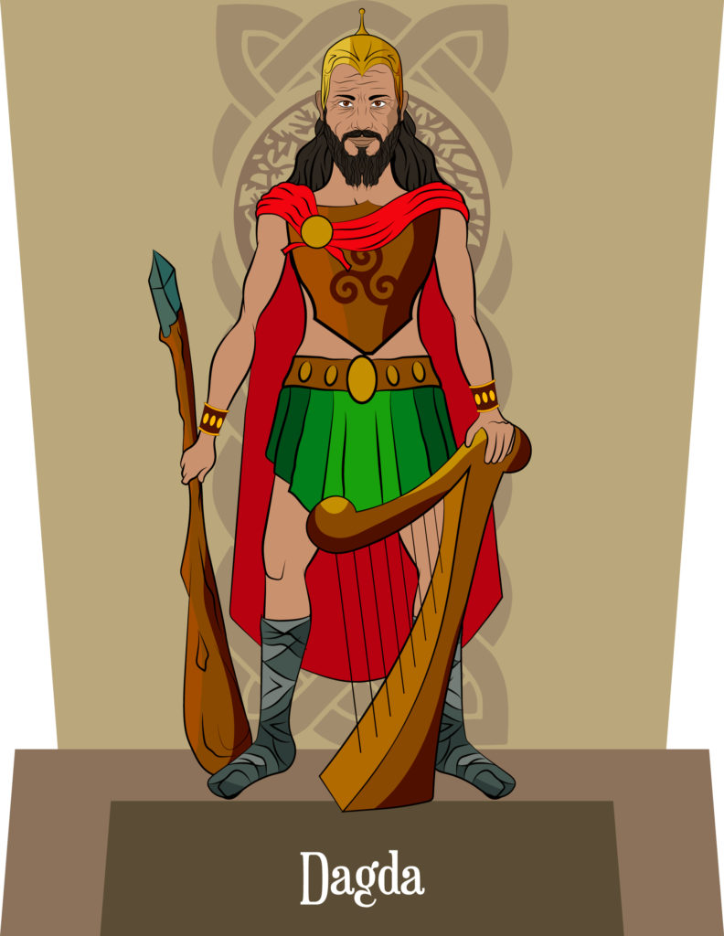 Le Dagda, dieu celte