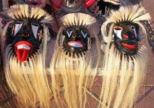 Masques chamaniques yaquis du Mexique