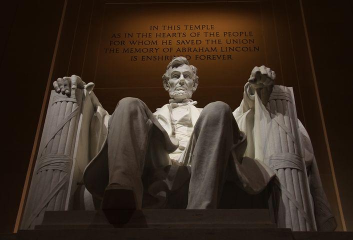 Monument à la gloire d'Abraham Lincoln