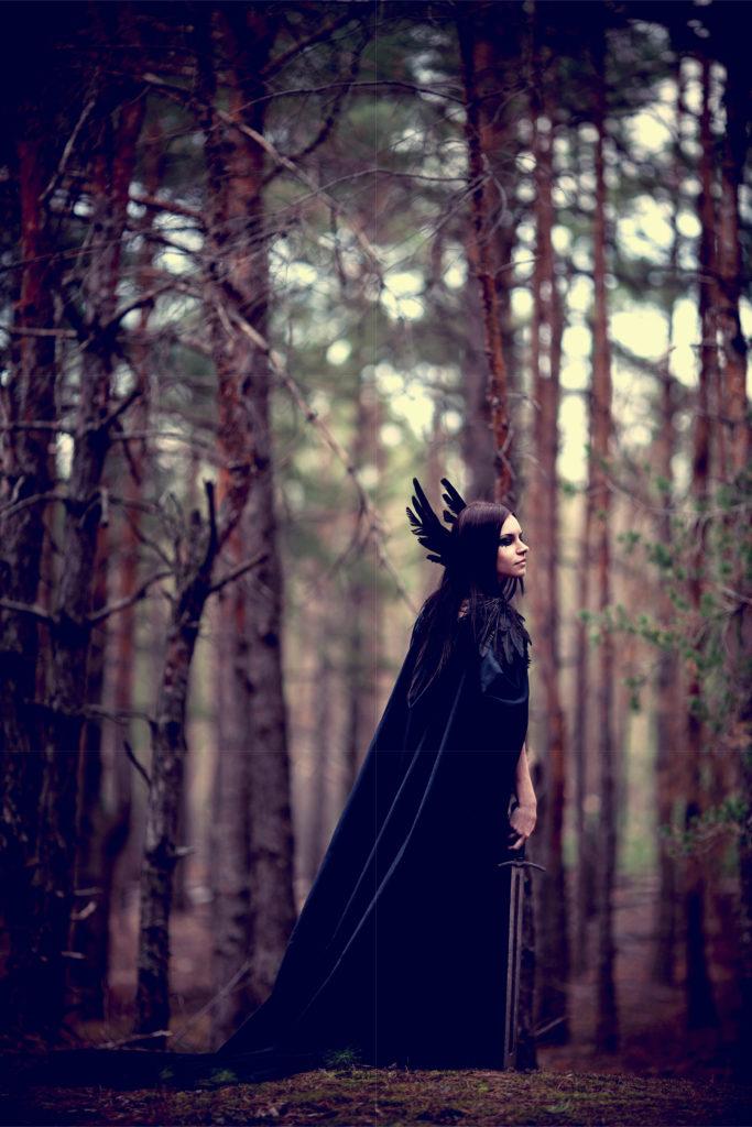La Morrigan, déesse de la mort celte