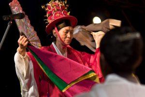 Femme Chamane Mudang, Corée