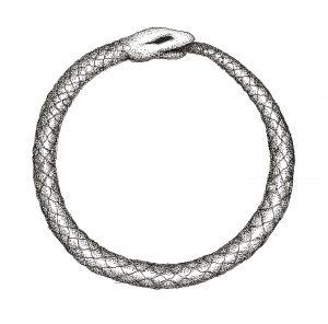Ouroboros, symbole de l'infini