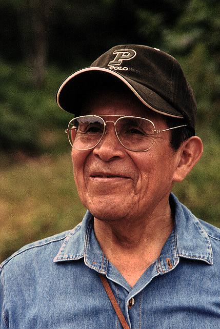 Le chamane shipibo Pablo Amaringoo