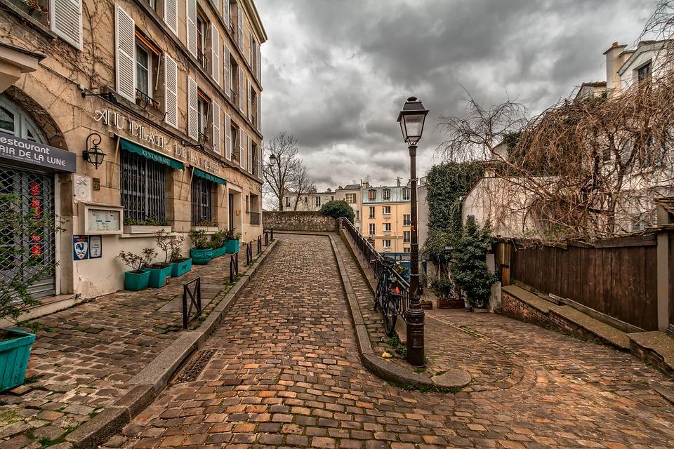 Les rues du Paris romantique