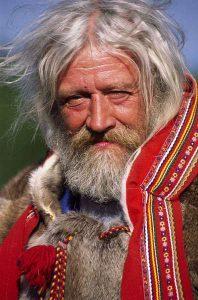 Peuple chamanique Saami, Laponie