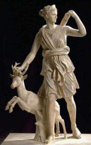 Artémis, déesse sauvage et indomptée