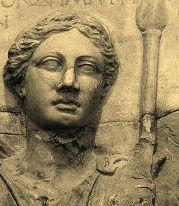 La Titanide Théia, mère d'Hélios, d'Éos et de Séléné
