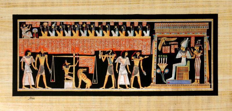 Connaissez-vous le jugement de l'âme chez les Égyptiens ?