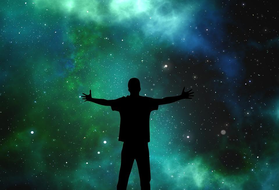 Communion chamanique avec le cosmos