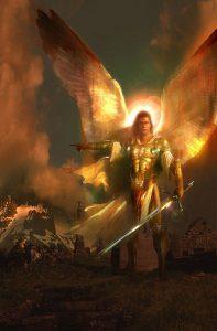 L'archange Michel, chef des armées célestes