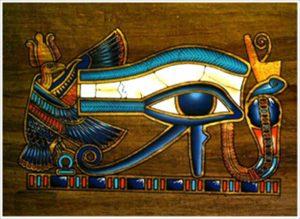 L'œil d'Horus ou œil oudjat