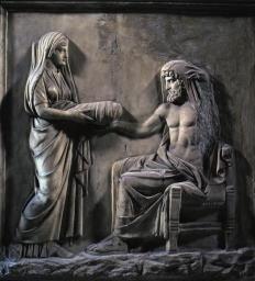 Rhéa-Zeus-Cronos
