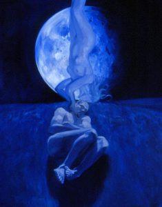 Séléné, les rêves, la lune, la nuit et l'insconscient