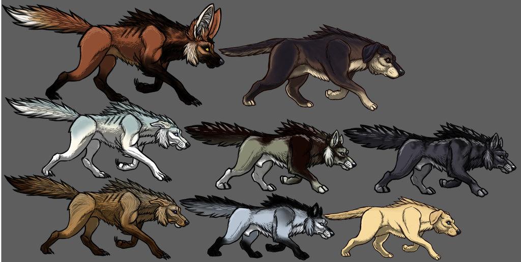 Les différents skin-walkers